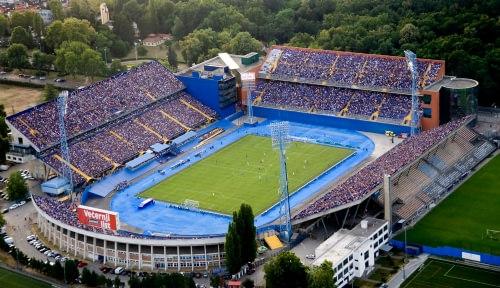 Dinamo Zagreb Maksimir Stadyumu / Hırvatistan
