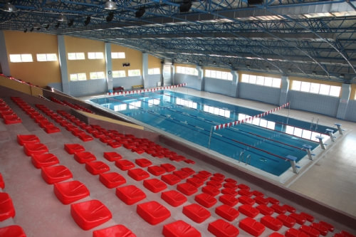 Sultanbeyli Indoor Swimming Pool / Istanbul