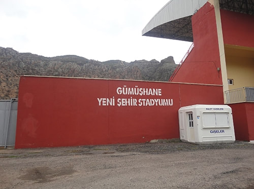 Gümüşhane Yenişehir Stadyumu / Gümüşhane
