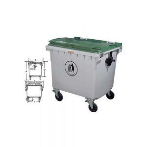 KON1100 Çöp Konteynırı