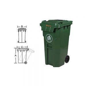 KON121 Çöp Konteynırı
