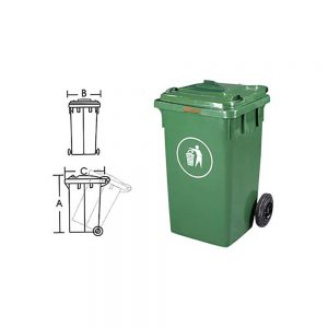 KON122 Wastebin Container
