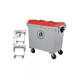 KON660 Wastebin Container