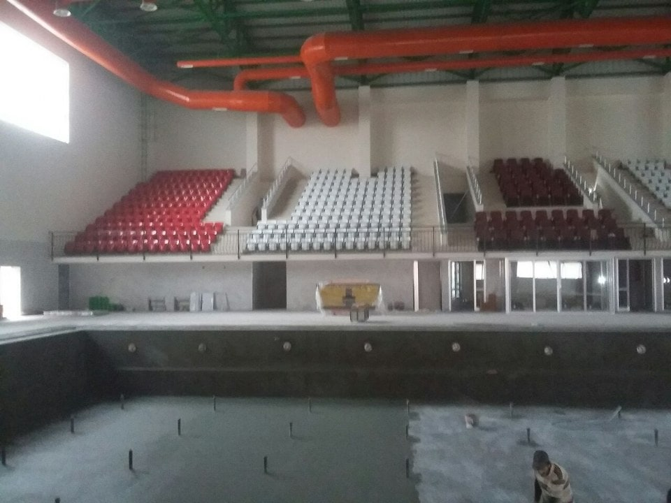 Of Half Olympic Swimming Pool / Trabzon