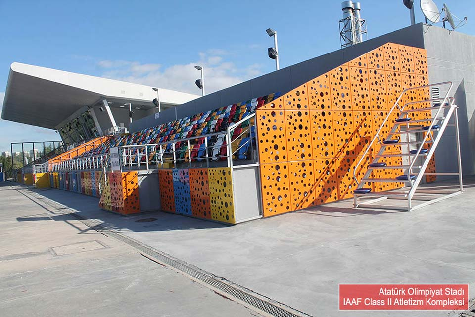 Atatürk Olympic Stadium Athletics Facility / Istanbul