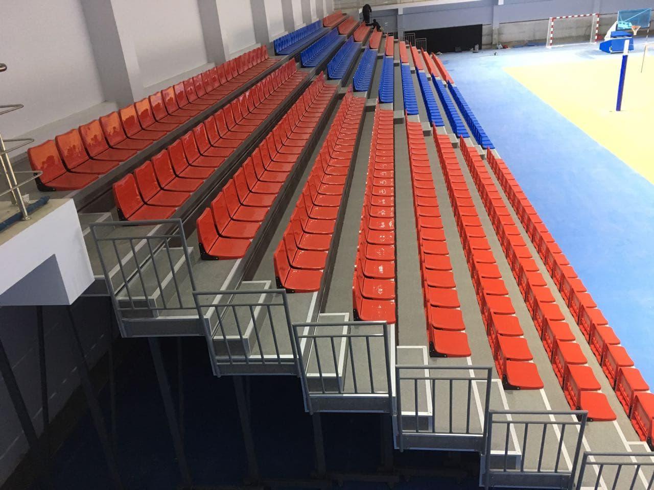 İzmir Katip Çelebi Üniversitesi Çiğli Kampüsü Kapalı Spor Salonu / İzmir