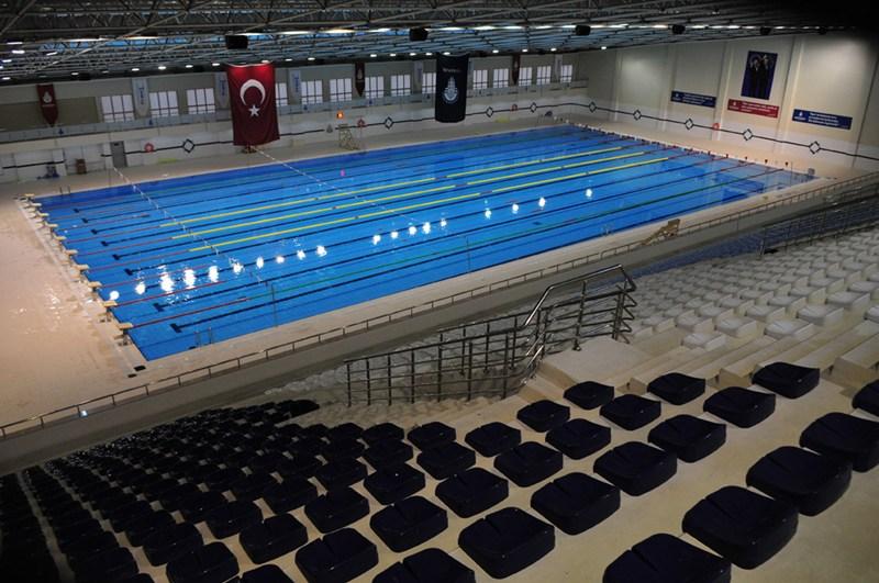 Kurtköy Pendik Olympic Swimming Pool / Istanbul