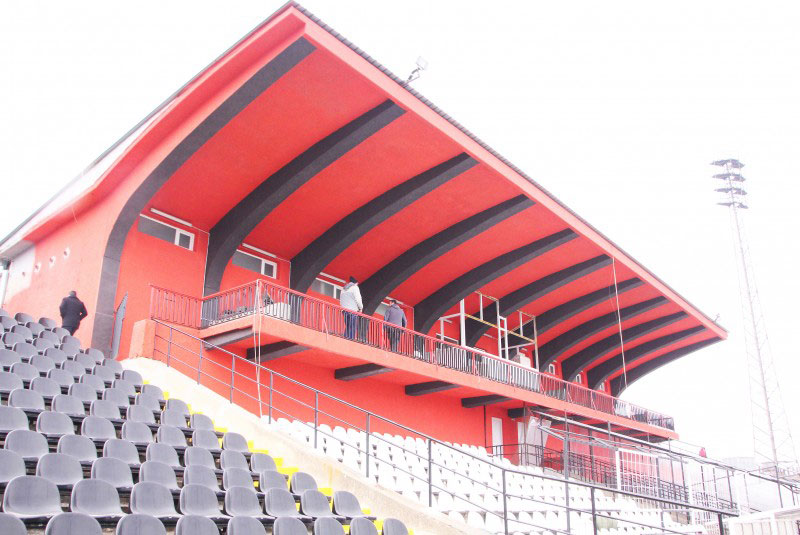 Stadium Lokomotov / Bulgaria