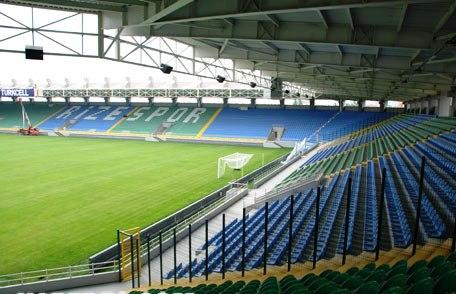 Yenişehir Stadium / Rize