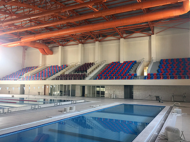 Cumra Swimming Pool / Konya