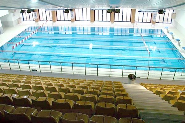 Istanbul Metropolitan Municipality Umraniye Indoor Swimming Pool / Istanbul