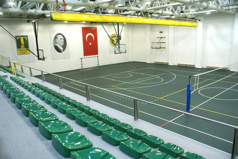 Sisli Terakki Foundation School Sports Hall / Istanbul
