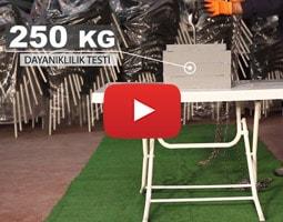 Roccia Masa 250 Kg Dayanıklılık Testi