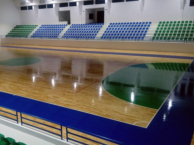 Meis El Jabal Sports Hall / Lebanon
