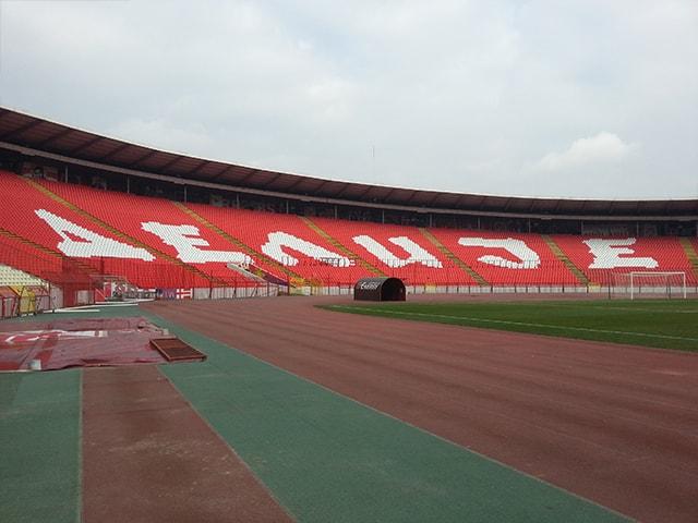Kızılyıldız Crvene Zvezde Stadyumu - Sırbistan